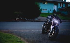 Мотоциклы: Street fighter, кастом, спортбайк, вечер