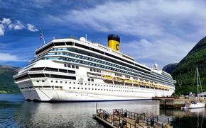 Корабли: Корабли, судно, транспорт, лайнер, круизный лайнер, параход, корабль