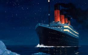 Корабли: Корабли, судно, транспорт, лайнер, круизный лайнер, параход, корабль, Титаник