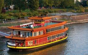 Корабли: корабли, корабль, судно, река, параход