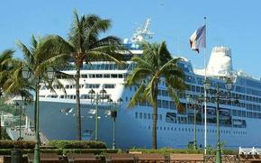 Корабли: Корабли, судно, транспорт, лайнер, круизный лайнер, параход, корабль, теплоход, порт