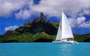 Корабли: Корабль, парусник.яхта, судно, корабли, море