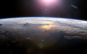 Космос: Космос, планета, Земля, небо, атмосфера, облака