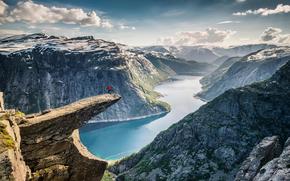 Ситуации: Язык Тролля, Норвегия