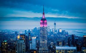 Город: город, нью йорк, америка, сша, небоскребы