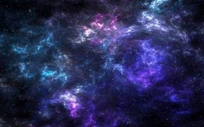 Космос: туманность, вселенная, звезды, небо