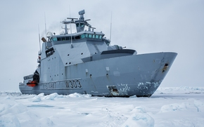 Машины: Норвегия, льды, Другая техника, ледокол, патрульное судно