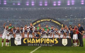 Праздники: футбол, победа, радость, чемпионат мира, чемпионы, сборная Германии