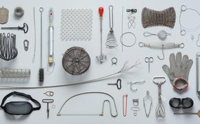 Текстуры: штопор, утварь, набор, лобзик, пружина, термометр, стенд