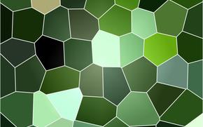 Текстуры: зелёный, фон, текстура, витраж