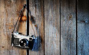 Настроения: широкоформатные, полноэкранные, фон, широкоэкранные, камера, доски, фотоаппарат, дерево, обои, настроения