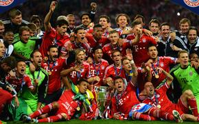 Спорт: УЕФА, Бавария, Чемпионы, Футбол, Уэмбли, Лига Чемпионов