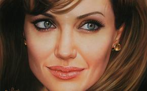 Разное: лицо, Анжелина  Джоли, актриса
