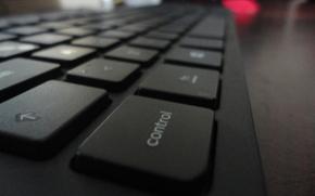 Hi-tech: keyboard, teclado, computadora