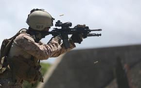 Мужчины: солдат