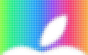 Текстуры: телефон, яблоко, радуга, ячейки, компьютер, гаджет, цвет