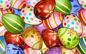 Текстуры: пасхальные яйца, текстура