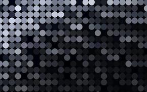 Текстуры: круги, текстура, черно-серая