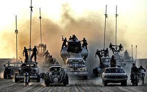 Фильмы: дизельпанк, машины, пустыня, Безумный Макс, Дорога ярости, постапокалиптика, пыль, воины