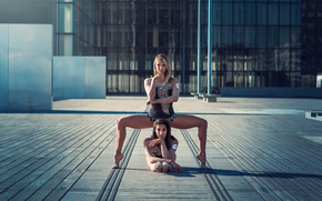 Ситуации: грация, гимнастки, город