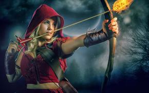 Ситуации: красная шапочка, стрела, огонь, лук