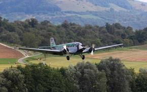 Авиация: самолёт, трёхмоторный, военно-транспортный, пассажирский, немецкий