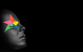 Минимализм: звезда, лицо, грим, макияж