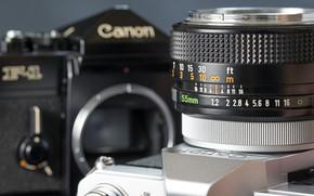 Машины: объектив, широкоформатные, фотоаппарат, фон, Hi-Tech, обои, широкоэкранные, полноэкранные