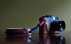 Машины: отражение, полноэкранные, широкоэкранные, широкоформатные, фон, камера, фотоаппарат, Hi-Tech, обои, чехол