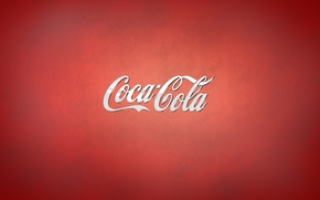 Минимализм: напиток, кока-кола, лого
