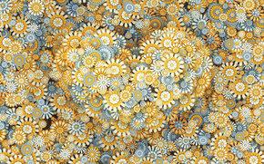 Текстуры: сердце, валентинка, цветы, праздник
