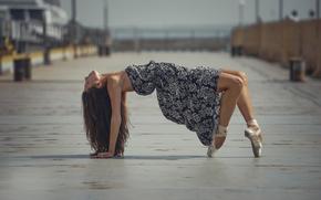 Ситуации: пуанты, город, балерина, грация, платье, танец