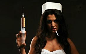 Ситуации: сигарета, шприц, хана тебе дружок, девушка