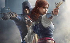 ����: Assassin's Creed, Assassin's Creed Unity, Arno Dorian, Elise, Games
