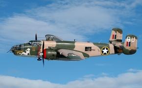 Авиация: США, бомбардировщик, двухмоторный, пятиместный