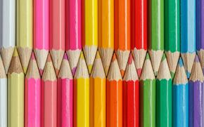 Текстуры: оттенки, карандаши, цветные