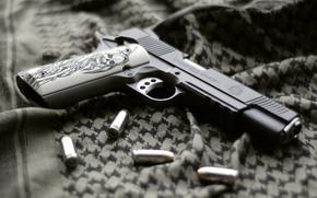 Оружие: оружие, ткань, пистолет