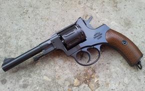 Оружие: Наган, Револьвер, оружие