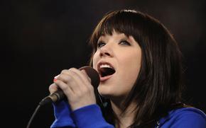 Музыка: тин-поп, поп, микрофон, поп-рок, канадская певица, Карли Рэй Джепсен