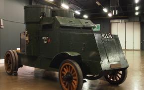 Оружие: лёгкий бронеавтомобиль, британский