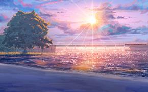 Аниме: пляж, бесконечное лето