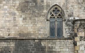 Текстуры: камни, Окно, Испания, кладка, стена