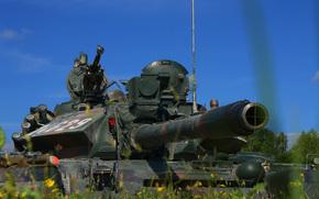 Оружие: танк, бронетехника, боевой, дуло