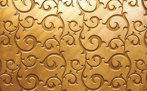 Текстуры: текстура, золотистый цвет, узор