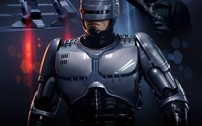 ������: Robocop, Ed-209, Clarence Boddicker
