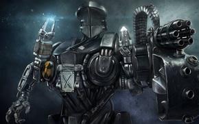 Фильмы: Robocop-2, Cain, cyborg