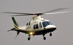 Авиация: восьмиместный вертолет, небо