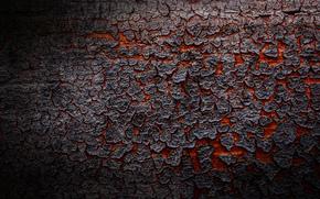 Текстуры: лава, текстура, кора