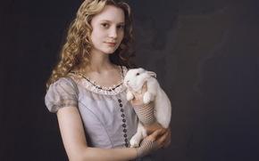 Фильмы: волосы, Алиса, платье, кролик, Васиковска, Миа