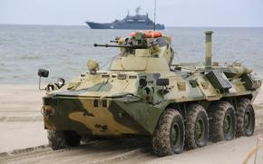 Оружие: бронетранспортёр, пехоты, боевая, машина